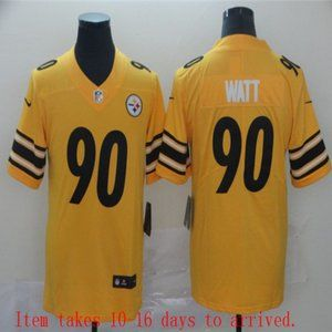 Steelers #90 T.J. Watt Jersey Inverted